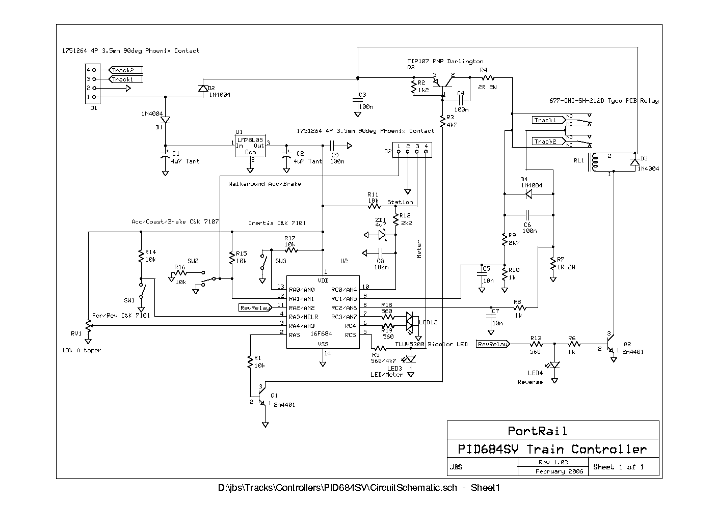 Electronics Trains4africa Page 10 Wire Relaybased Indicator Circuit For Cdu Multiple Turnout The Pcb Layout Is Shown At Right And Diagram Below