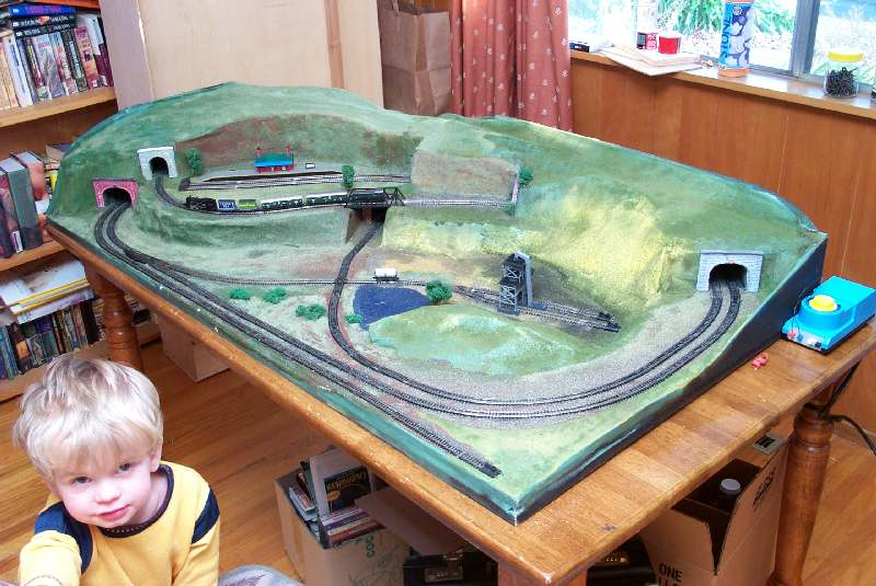 "The ""Scenic N"" Model Train Layout"