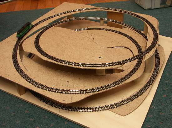 Coffee Table Model Railroad Images Train